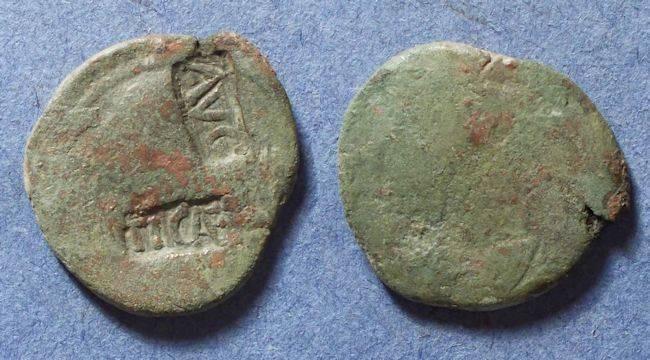 Ancient Coins - Roman Empire, Tiberius Circa 30 AD, As