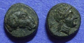 Ancient Coins - Kebren Troas – AE9 – 350-310BC - Choice