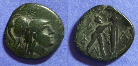 Ancient Coins - Macedonian Kingdom – Antigonos Gonatas 277-239BC AE22