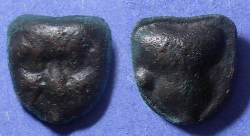 Ancient Coins - Selinos, Sicily 435-415 BC, Hexas