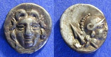 Ancient Coins - Selge Pisidia - Trihemiobol  Circa 250 BC