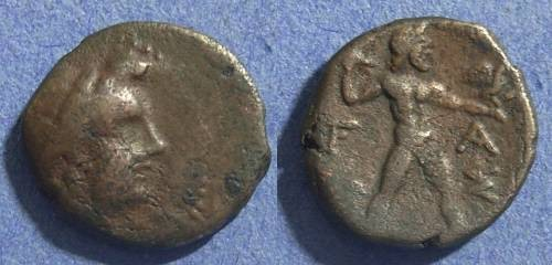 Ancient Coins - Elis, Olympia 225-191 BC, AE16