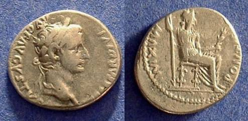 """Ancient Coins - Tiberius 14-37AD Denarius  """"Tribute Penny"""""""