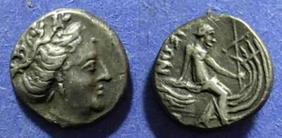 Ancient Coins - Euboia, Histiaia Circa 250 BC, Tetrobol