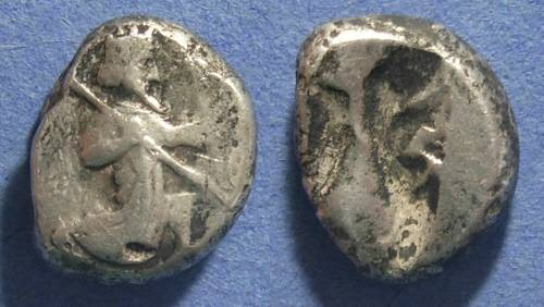 Ancient Coins - Persia, Achaemenid Kings Circa 425 BC, Siglos