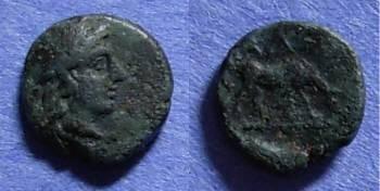 Ancient Coins - Alexandria, Troas Circa 260 BC, AE9