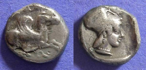Ancient Coins - Corinth Stater 500-480 BC