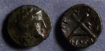 Ancient Coins - Thessaly, Peumata 302-286 BC, AE13
