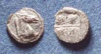 Ancient Coins - Thraco-Macedonian, Uncertain Circa 400 BC, Tetartemorion