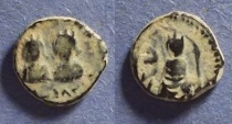 Ancient Coins - Byzantine Empire, Justin & Justinian 527, Pentanummium
