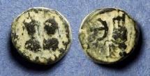Ancient Coins - Byzantine Empire, Justin & Justinian 527, Pentanummium