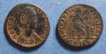 Ancient Coins - Roman Empire, Aelia Flaccilla 379-395, AE2