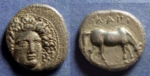 Ancient Coins - Thessaly, Larissa 400-380 BC, Drachm