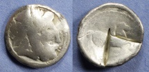 Ancient Coins - Danube Celts, Imitating Philip II of Macedonia Circa 330 BC, Tetradrachm