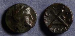 Ancient Coins - Thessaly, Peumata 302-286 BC, AE13