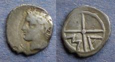 Ancient Coins - Gaul, Massalia 220-121 BC, Obol