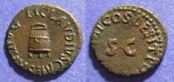 Ancient Coins - Roman Empire, Claudius 41-54, Quadrans