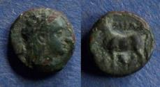 Ancient Coins - Mysia, Miletopolis Circa 350 BC, AE10