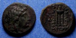 Ancient Coins - Seleucid Kingdom, Antiochos II 261-246 BC, Bronze AE18
