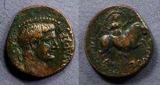 Ancient Coins - Amphipolis Macedonia, Tiberius 14-37 AD, AE21