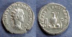 Ancient Coins - Roman Empire, Herennius Etruscus 249-251, Antoninianus
