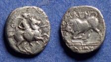 Ancient Coins - Ionia, Magnesia 350-190 BC, Silver Diobol