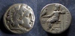 Ancient Coins - Macedonian Kingdom, Philip III 323-317 BC, Drachm