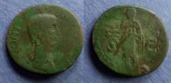 Ancient Coins - Roman Empire, Antonia Struck 41/42 AD, Dupondius