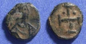 Ancient Coins - Byzantine Empire, Maurice Tiberius 582-602, Nummis