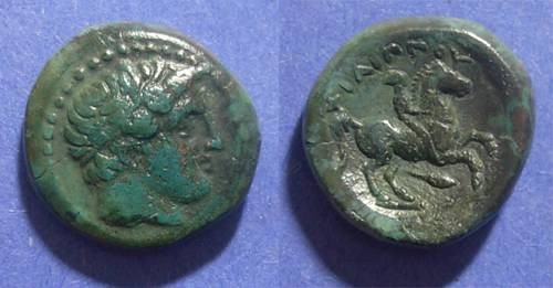 Ancient Coins - Macedonian Kingom, Philip II 359-336 BC, AE18