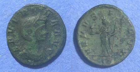 Ancient Coins - Roman Empire, Severina 270-275 AD, Denarius