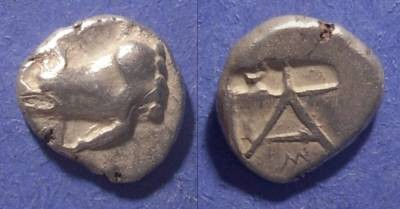 Ancient Coins - Argos,  468-421 BC, Hemidrachm