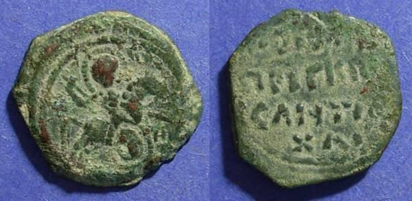 World Coins - Crusader Antioch, Roger of Salerno 1112-19, Follis