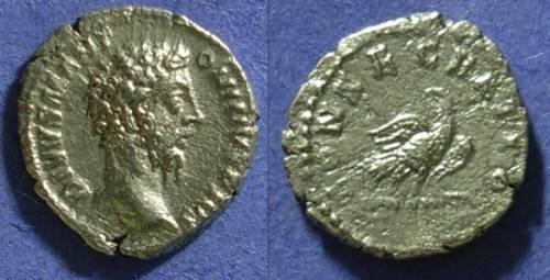 Ancient Coins - Divo Aurelius d.180 - Denarius