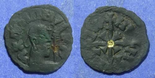 Ancient Coins - Axum  Wazena Circa 525-550 AE16