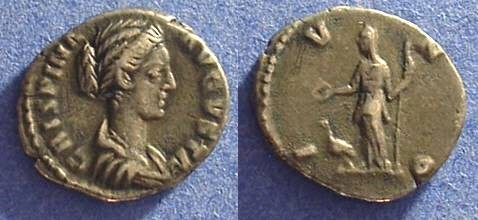 Ancient Coins - Crispina - Wife of Commodus D.182 Denarius