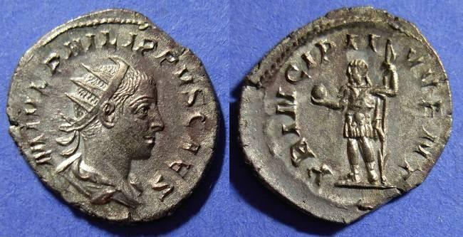 Ancient Coins - Philip II (Caesar) 244-7 Antoninianus