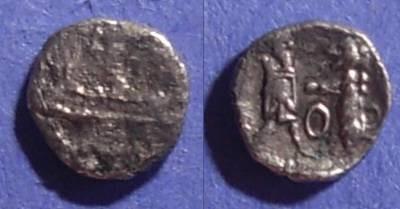 Ancient Coins - Sidon, Phoenicia 375-333 BC, 1/8 Shekel