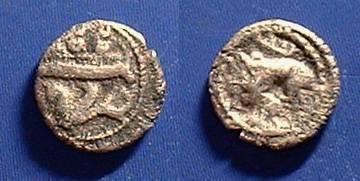 Ancient Coins - Byblos Phoenicia 1/8th Shekel - Circa 350BC