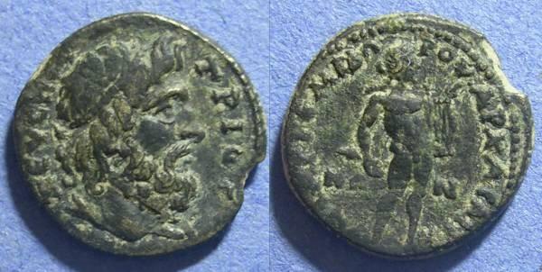 Ancient Coins - Saitta Lydia, Time of Commodus 180-192, AE22
