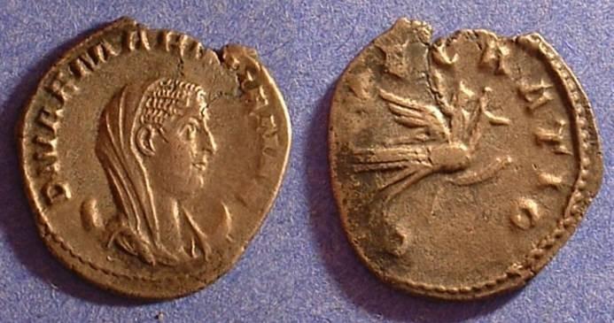 Ancient Coins - Mariniana (Wife of Valerian) Antoninianus