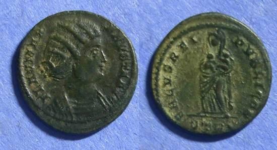 Ancient Coins - Roman Empire, Fausta d. 326, AE3