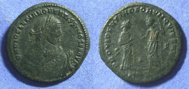Ancient Coins - Diocletian 305 Abdication follies