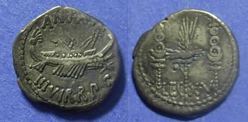 Ancient Coins - Rome Marc Antony Struck 31-30 BC Denarius