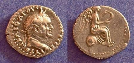 Ancient Coins - Vespasian 69-79AD - Hemidrachm of Caesarea Cappadocia