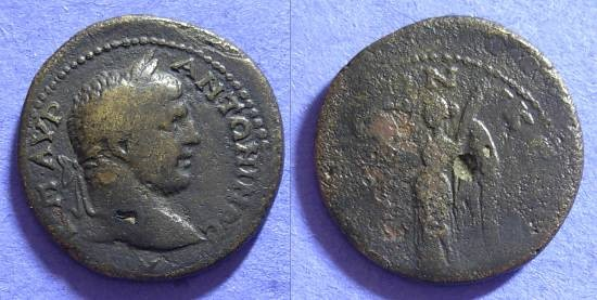 Ancient Coins - Caracalla 198-217AD - AE23 of Thessalonica Macedonia