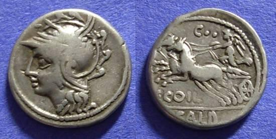 Ancient Coins - Roman Republic - Denarius 104 BC - Coelia 2