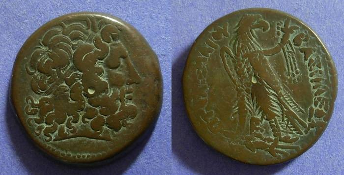 Ancient Coins - Egypt Ptolemy III 246-221 BC AE38