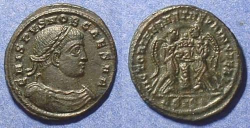 Ancient Coins - Crispus (Caesar) 316-326AD AE3 (R5)