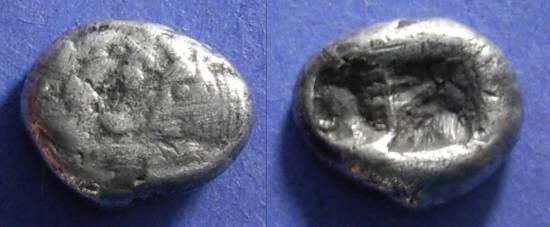 Ancient Coins - Lydia, Croesus ( Kroisos ) 561-546 BC, Siglos